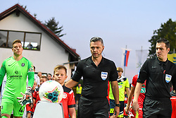 Damir Skomina before football match between NK Aluminij and NK Olimpija in 6st Round of Prva liga Telekom Slovenije 2019/20, on August 18, 2019 in Sportni park NK Aluminij, Kidricevo, Slovenia. Photo by Milos Vujinovic / Sportida