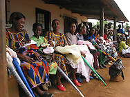 women and child clinic in Uganda