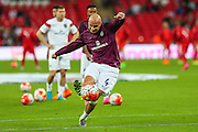 England's Jonjo Shelvey  before the UEFA European 2016 Qualifying match between England and Switzerland at Wembley Stadium, London, England on 8 September 2015. Photo by Shane Healey.