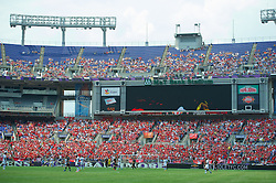 BALTIMORE, MD - Saturday, July 28, 2012: Liverpool take on Tottenham Hotspur during a pre-season friendly match at the M&T Bank Stadium. (Pic by David Rawcliffe/Propaganda)