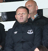 Everton assistant manager Graeme Jones watches Dundee v Wigan Athletic - pre season friendly at Dens Park<br /> <br />  - &copy; David Young - www.davidyoungphoto.co.uk - email: davidyoungphoto@gmail.com