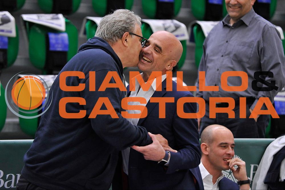 Romeo Sacchetti - Andrea Manunta<br /> Banco di Sardegna Dinamo Sassari - Enel New Basket Brindisi<br /> LegaBasket Serie A LBA Poste Mobile 2016/2017<br /> Sassari 02/04/2017<br /> Foto Ciamillo-Castoria