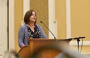 Jenny Hall Jones addresses Breakfast for Progress.
