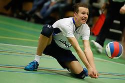 20170125 NED: Beker, Sliedrecht Sport - Seesing Personeel Orion: Sliedrecht<br />Jorick de Groot (5) of Sliedrecht Sport <br />©2017-FotoHoogendoorn.nl / Pim Waslander