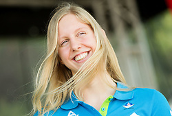 Ava Schollmayer, swimming during presentation of Slovenian Team for Baku 2015 European Games,  on June 4, 2015 in Koper, Slovenia. Photo by Vid Ponikvar / Sportida