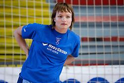 Katja Cerenjak at practice of Slovenian Handball Women National Team, on June 3, 2009, in Arena Kodeljevo, Ljubljana, Slovenia. (Photo by Vid Ponikvar / Sportida)