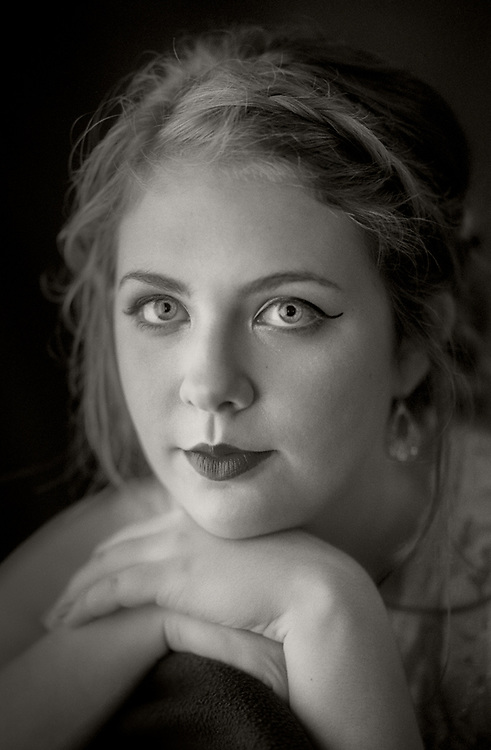 Window light portrait by Kansas City photographer Kirk Decker