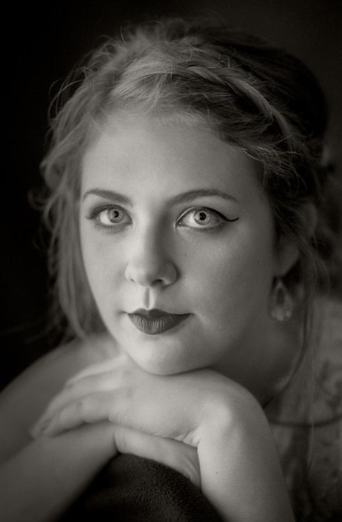 Window light portrait by Kansas City photographer Kirk Decker