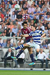 21.05.2011, Olympia Stadion, Berlin, GER, DFB Pokal Finale 2011,  MSV Duisburg vs Schalke 04, im Bild Raul (Schalke 04 #7) und Benjamin Kern (MSV Duisburg #6)  // during the DFB Cup final 2011 MSV Duisburg vs. Schalke 04 at the Olympic Stadium, Berlin, 21/05/2011 EXPA Pictures © 2011, PhotoCredit: EXPA/ nph/  Hammes       ****** out of GER / SWE / CRO  / BEL ******