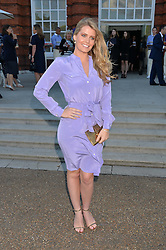 LADY KITTY SPENCER at The Ralph Lauren & Vogue Wimbledon Summer Cocktail Party at The Orangery, Kensington Palace, London on 22nd June 2015.  The event is to celebrate ten years of Ralph Lauren as official outfitter to the Championships, Wimbledon.