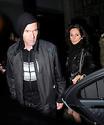 10.MARCH.2011. LONDON<br /> <br /> FRENCH FOOTBALL LEGEND ZINEDINE ZIDANE ARRIVING AT NOBU RESTAURANT, BERKLEY SQUARE WITH WIFE VERONIQUE FERNANDEZ AT 9.30PM BEFORE LEAVING AT 11.30PM.<br /> <br /> BYLINE: EDBIMAGEARCHIVE.COM<br /> <br /> *THIS IMAGE IS STRICTLY FOR UK NEWSPAPERS AND MAGAZINES ONLY*<br /> *FOR WORLD WIDE SALES AND WEB USE PLEASE CONTACT EDBIMAGEARCHIVE - 0208 954 5968*