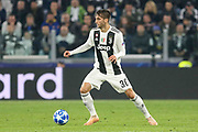 Juventus Midfielder Rodrigo Bentancur during the Champions League Group H match between Juventus FC and Manchester United at the Allianz Stadium, Turin, Italy on 7 November 2018.