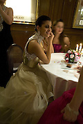 MARIA ABOU NADER , Crillon Debutante Ball 2007,  Crillon Hotel Paris. 24 November 2007. -DO NOT ARCHIVE-© Copyright Photograph by Dafydd Jones. 248 Clapham Rd. London SW9 0PZ. Tel 0207 820 0771. www.dafjones.com.