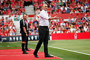 Reading first team manager Paul Clement during the EFL Sky Bet Championship match between Nottingham Forest and Reading at the City Ground, Nottingham, England on 11 August 2018.