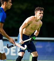 Amstelveen - Jake Smith  tijdens de training van Pinoke Heren I, naar aanloop van de hoofklasse hockey competitie. COPYRIGHT KOEN SUYK