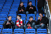 Bristol City fans before the Sky Bet Championship match between Reading and Bristol City at the Madejski Stadium, Reading, England on 2 January 2016. Photo by Jemma Phillips.