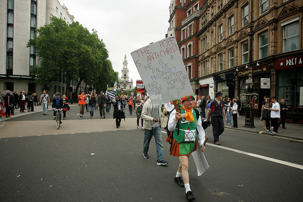 March against austerity held in London on the 20th June had over 250 thousand people take part in the march.