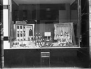 24/9/1952<br /> 9/24/1952<br /> 24 September 1952<br /> <br /> Window Display at Williams on Baggott St.