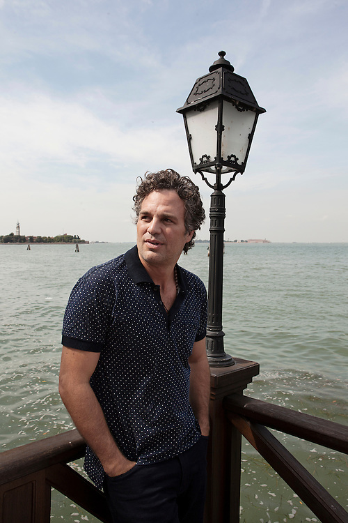 Venice Lido, September 3, 2015. American actor Mark Ruffalo for Le Monde.