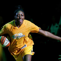 25 May 2014:  Los Angeles Sparks forward Nneka Ogwumike (30) is seen during the players introduction prior to the Los Angeles Sparks 83-62 victory over the San Antonio Stars, at the Staples Center, Los Angeles, California, USA.