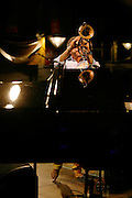 Paolo Fresu, trp & horn, live at La JAZZPARADE 2009 Fribourg. © Romano P. Riedo