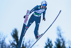 10.01.2015, Kulm, Bad Mitterndorf, AUT, FIS Ski Flug Weltcup, Bewerb, im Bild Daniel Wenig (GER) // soars to the Air during his Competition Jump of the FIS Ski Flying World Cup at the Kulm, Bad Mitterndorf, Austria on 2015/01/10, EXPA Pictures © 2015, PhotoCredit: EXPA/ Dominik Angerer