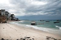 Zanzibar, Tanzania. 2011<br /> <br /> The shores of Zanzibar, Tanzania during an incoming storm