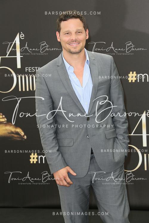 "MONTE-CARLO, MONACO - JUNE 10:  Justin Chambers attends ""Grey's Anatomy"" Photocall at the Grimaldi Forum on June 10, 2014 in Monte-Carlo, Monaco.  (Photo by Tony Barson/FilmMagic)"