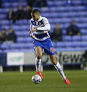 Reading defender Michael Hector during the Sky Bet Championship match between Reading and Brighton and Hove Albion at the Madejski Stadium, Reading, England on 10 March 2015.