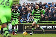 Forest Green Rovers Dayle Grubb(8) runs forward during the EFL Sky Bet League 2 match between Forest Green Rovers and Coventry City at the New Lawn, Forest Green, United Kingdom on 3 February 2018. Picture by Shane Healey.