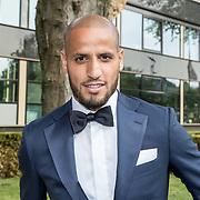 NLD/Hilversum//20170821 - Voetbalgala 2017, Voetballer van het jaar Karim El Ahmadi