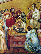 Giotto di Bondone 1315-1320 death of Mary