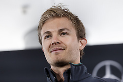 04.05.2014, Hockenheimring, Hockenheim, GER, DTM, 1. Lauf, Hockenheimring, Pressekonferenz, im Bild Nico Rosberg, Mercedes Formel 1 Pilot // during a press Conference prior to the 1th run of DTM at the Hockenheimring in Hockenheim, Germany on 2014/05/04. EXPA Pictures © 2014, PhotoCredit: EXPA/ Eibner-Pressefoto/ Neis<br /> <br /> *****ATTENTION - OUT of GER*****