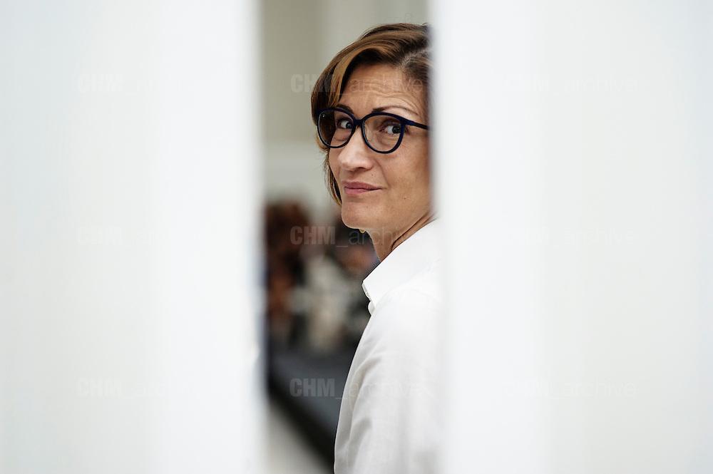 Mariastella Gelmini all' Open Colonna durante la presentazione dell'ultimo libro di Michaela Biancofiore, Roma 22 luglio 2014.  Christian Mantuano / OneShot