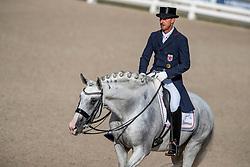Schulz Sascha, LUX, Dargao<br /> European Championship Dressage<br /> Rotterdam 2019<br /> © Hippo Foto - Dirk Caremans