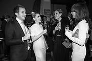 WILL MCCULLOGH; ; KOO DONNELLY; CEIRE O'ROURKE;  SOPHIE GASS; , Action Against Cancer 'A Voyage of Discovery' fundraising dinner at the Science Museum on Wednesday 14 October 2015.
