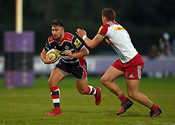 Jordan Williams of Bristol United  - Mandatory by-line: Joe Meredith/JMP - 12/09/2016 - RUGBY - Clifton RFC - Bristol, England - Bristol United v Harlequins A - Aviva A League