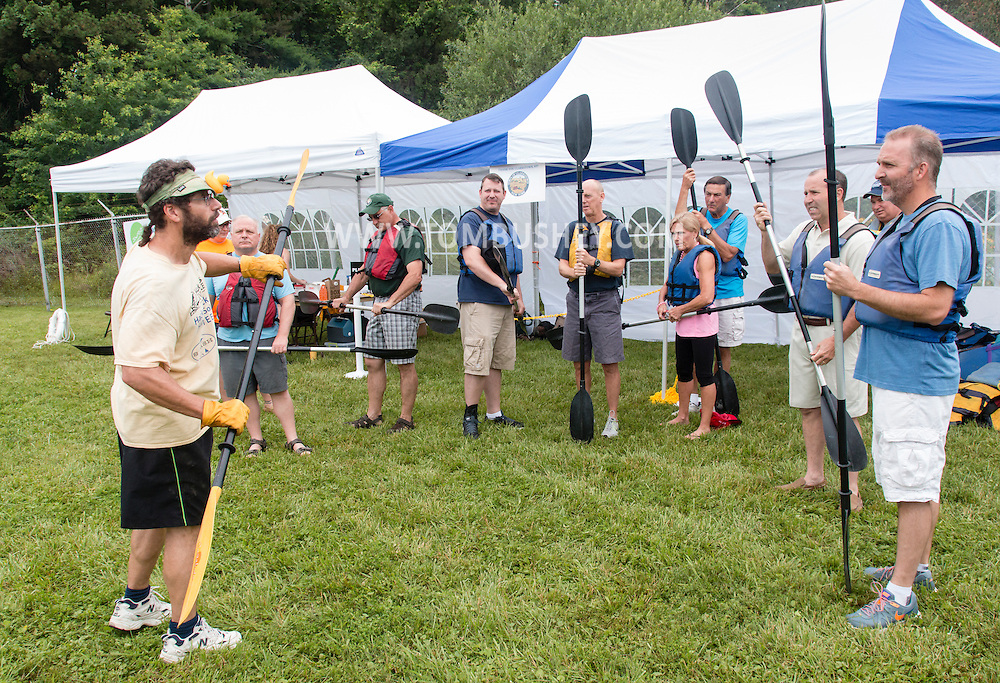 Clarkstown, New York - United Water holds Lake DeForest Day  on June 27, 2015.
