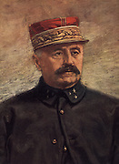 General Louis Felix Marie Francois Fouchet d'Esperey (1856-1942) French army officer.  In the First World War he commanded French forces on both the Western and Balkan fronts.