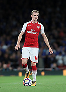Arsenal's Rob Holding in action during the premier league match at the Emirates Stadium, London. Picture date 11th August 2017. Picture credit should read: David Klein/Sportimage