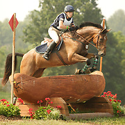Liz Zerkus (USA) and Roselina at the 2007 CN North American Junior and Young Riders' Championships held at the Virginia Horse Center in Lexington, Virginia