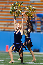 September 24, 2011; San Jose, CA, USA; Members of the San Jose State Spartans dance team perform before the game against the New Mexico State Aggies at Spartan Stadium.