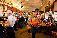 Jersey Lilly Saloon and Restaurant, Ingomar, Montana, National Register of Historic Places, during annual Ranch Rodeo