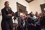 SIR NICHOLAS SEROTA, YINKA SHONIBARE Opening of Diaspora Pavilion  Palazzo Pisani and Santa Marina. Venice Biennale, 10 May 2017