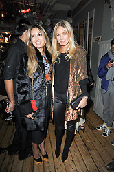 Left to right, ZARA MARTIN and MARISSA MONTGOMERY at a party to celebrate the 1st anniversary of Alice Temperley's label held at Paradise, Kensal Green, London W10 on 25th November 2010.