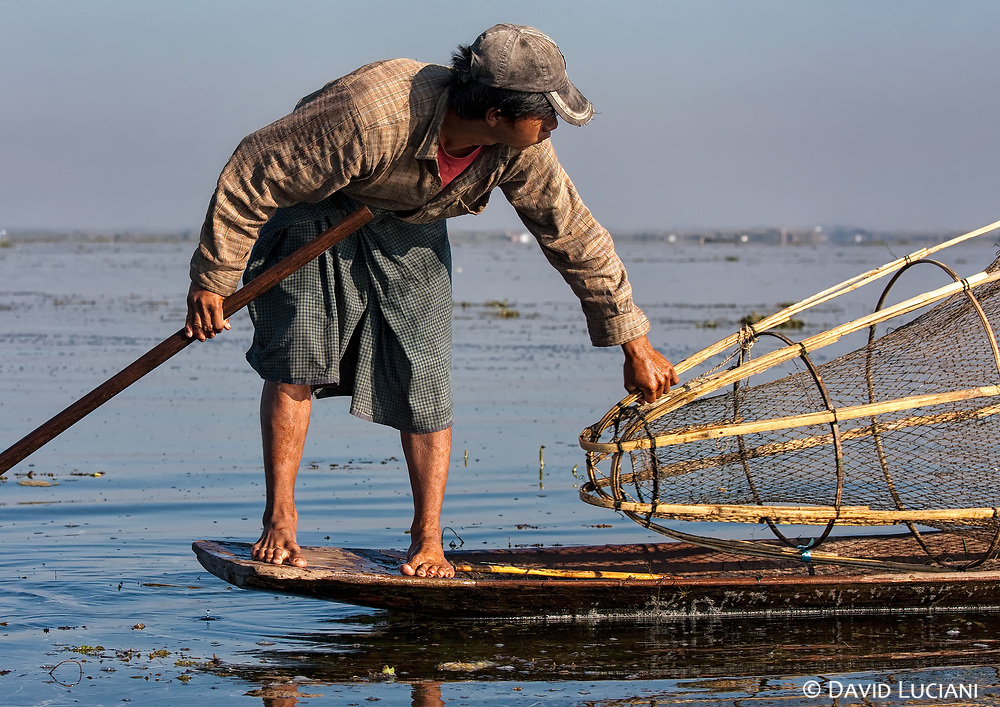 Many locals, like this young man, become fishermen like their fathers.
