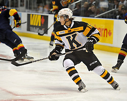 Marc Beckstead of the Kingston Frontenacs. Photo by Aaron Bell/OHL Images