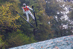 Peter Prevc during national competition in Ski Jumping, 8th of October, 2016, Kranj,  Slovenia. Photo by Grega Valancic / Sportida