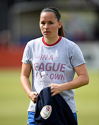 Marije Brummel of Bristol Academy Women - Mandatory by-line: Paul Knight/JMP - Mobile: 07966 386802 - 13/09/2015 -  FOOTBALL - Stoke Gifford Stadium - Bristol, England -  Bristol Academy Women v Liverpool Ladies FC - FA WSL Continental Tyres Cup