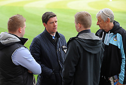Bristol Rovers Manager Darrell Clarke pre-match press - Mandatory byline: Neil Brookman/JMP - 07966 386802 - 03/10/2015 - FOOTBALL - Globe Arena - Morecambe, England - Morecambe FC v Bristol Rovers - Sky Bet League Two